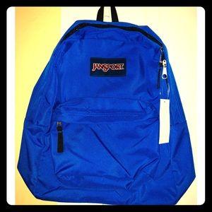 jansport superbreak backpack, blue